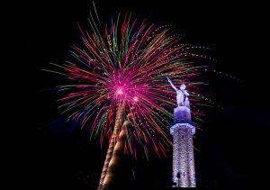 2020 Fireworks Show hosted by Vulcan Park is still happening!