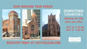2020 Walking Tour of Birmingham's downtown churches, September 26th