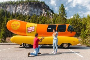 Schedule a visit from the Oscar Mayer Wienermobile for FREE