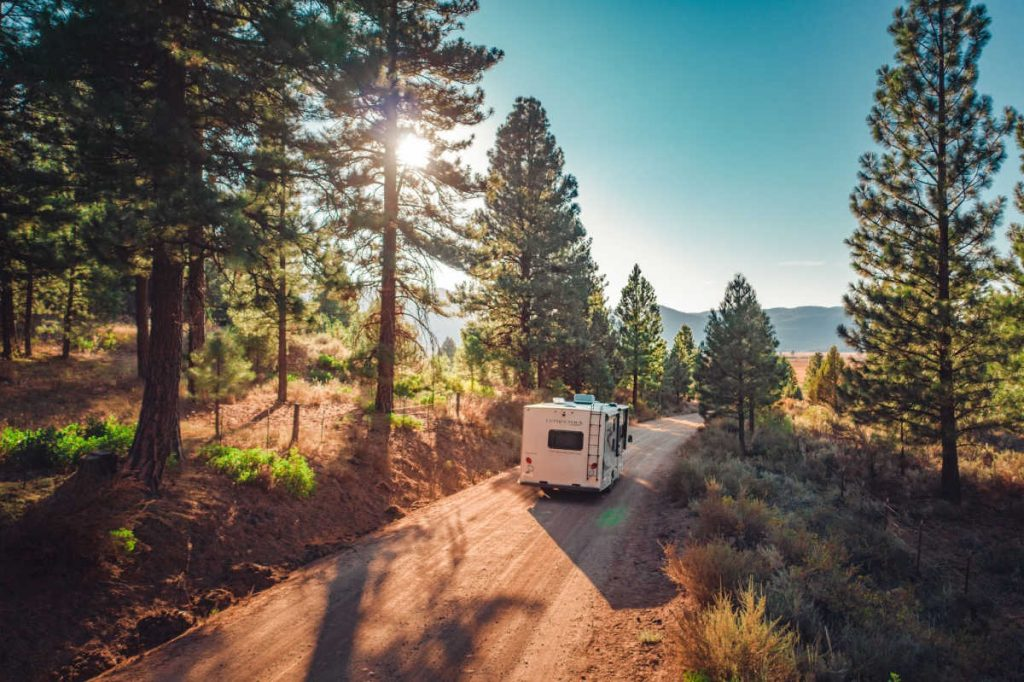 Rent an RV for holiday travel