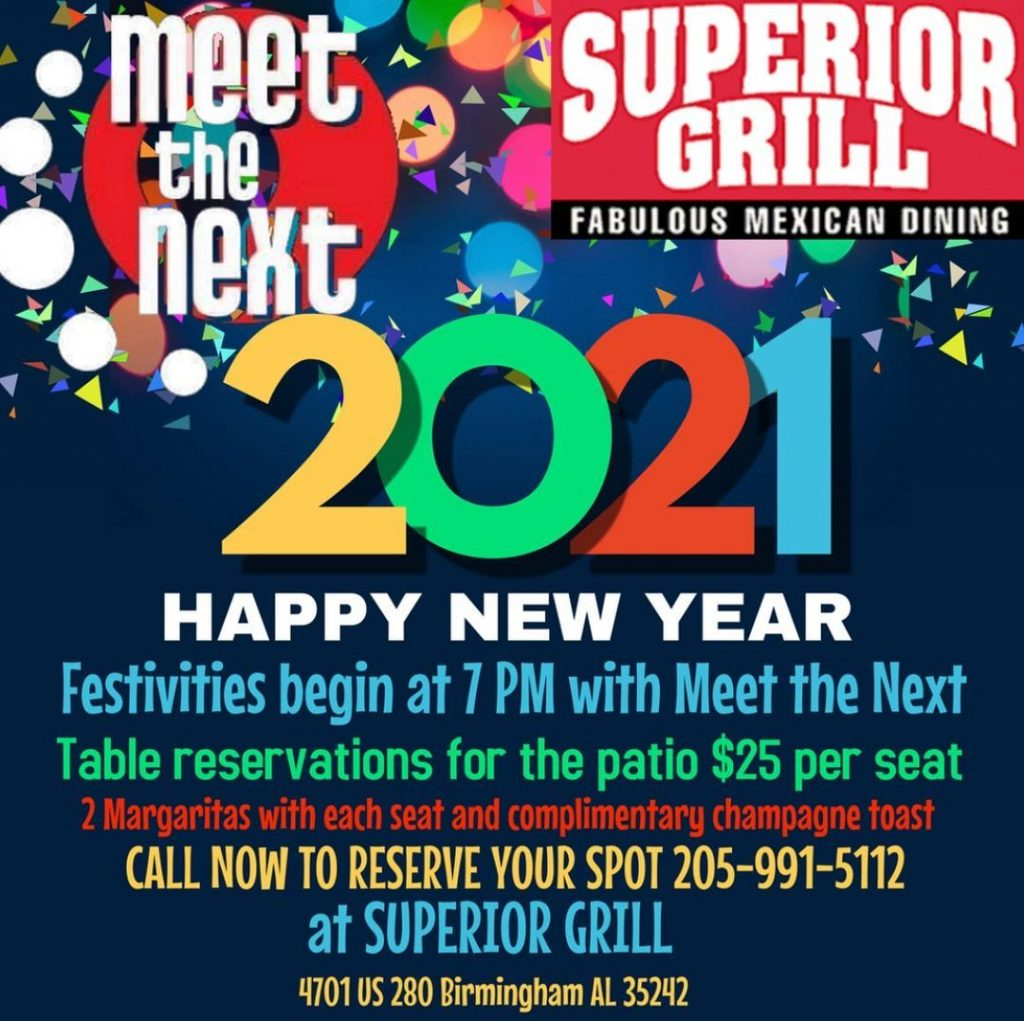 Get your New Year's reservations at Superior Grill