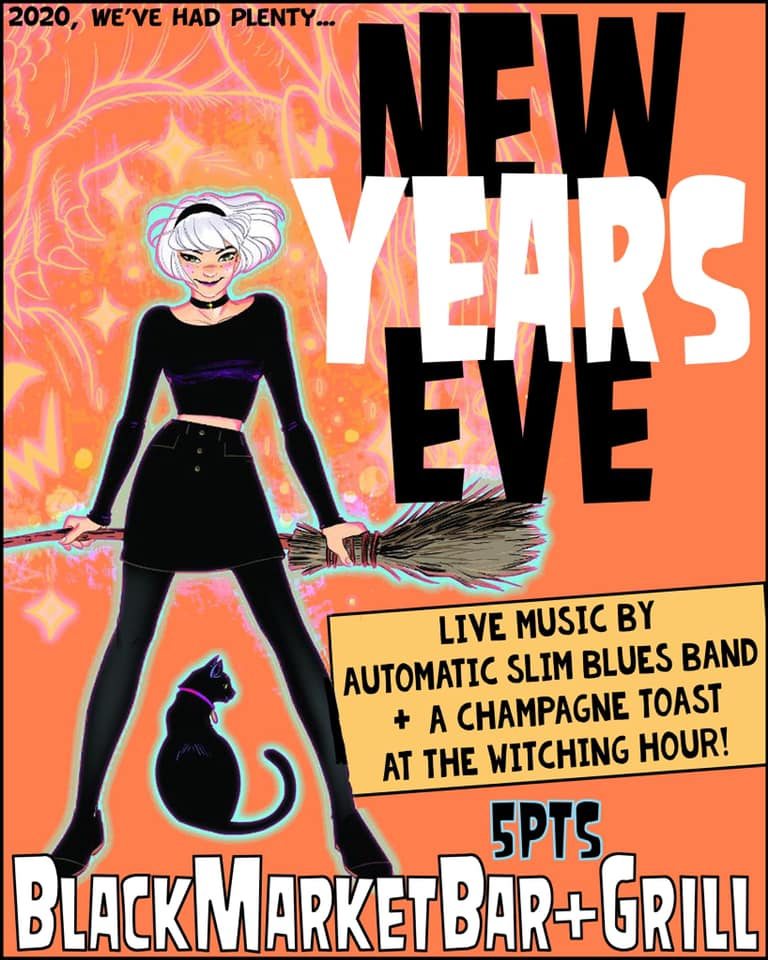 Black Market Bar and Grill in Five Points South: New Year's Eve Party