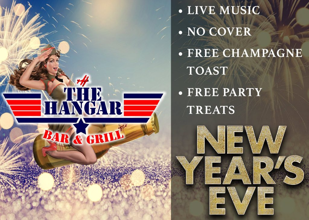 The Hangar Bar and Grill rings in the New Year with a FREE toast